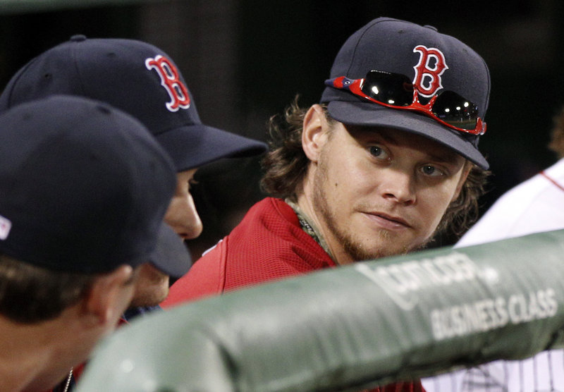 Clay Buchholz got good news Tuesday as he was told a stress fracture in his back did not mean it was the end of his season.
