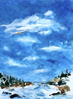 """""""Toward Todd Bay"""" by Don Peterson, from """"Watermark"""" at the Salt Exchange"""