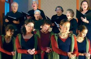 """THE MOVING SPIRIT DANCERS will perform a sign language dance Saturday during the Unitarian Universalist Church of Brunswick's third annual """"Twelfth Night Revels."""""""