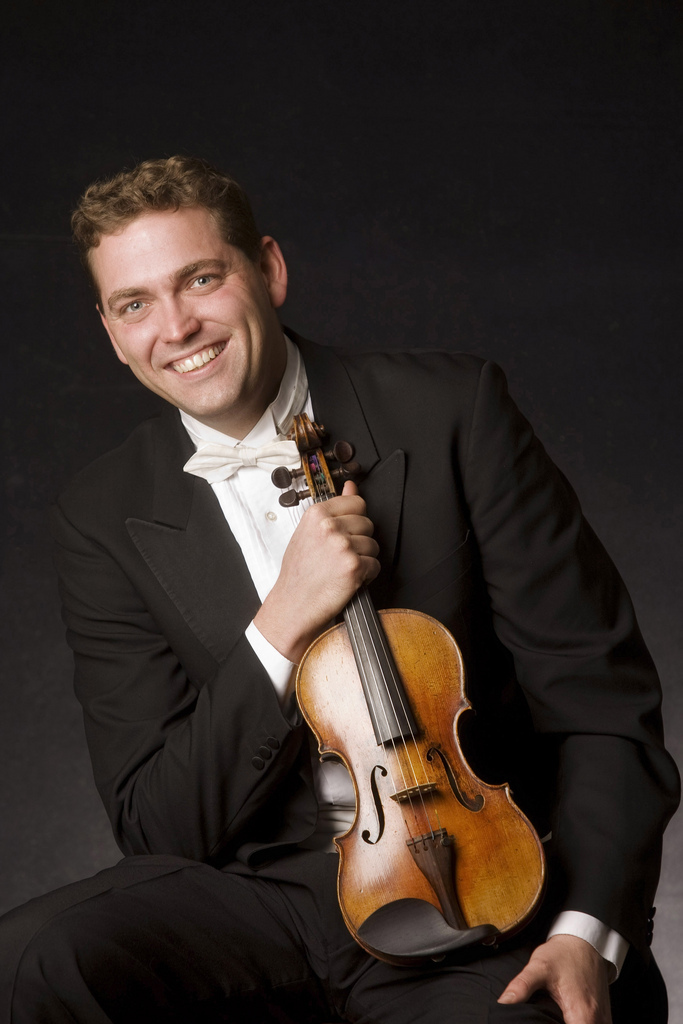 Guest violinist for PSO brings extra appreciation of