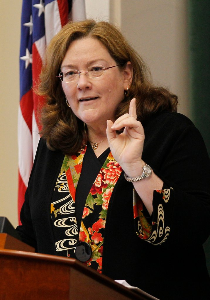 Maine Chief Justice Leigh Saufley, in her annual State of the Judiciary address Thursday, said effective immediately, bail commissioners must not set bail in domestic violence cases unless they have access to defendants' criminal history.