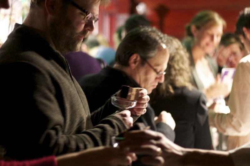Guests sample desserts at last year's Signature Event, the annual kick-off to Maine Restaurant Week.