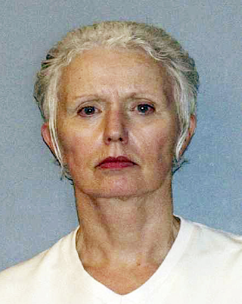 """Catherine Greig's lawyer has said 'Whitey' Bulger was """"the love of her life"""" and that she had no regrets about helping him evade capture."""