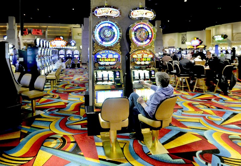 By summer, Maine will have two operating casinos, Hollywood Casino in Bangor, above, and another venue in Oxford set to open in June. Lawmakers want to study the effects of these sites to establish guidelines for future gambling development.