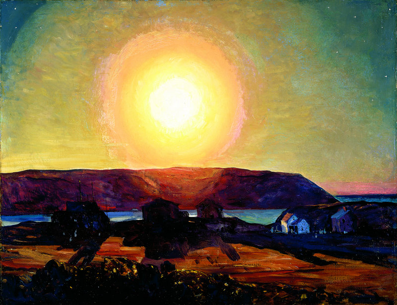 """Late Afternoon, Monhegan Island"" by Rockwell Kent."