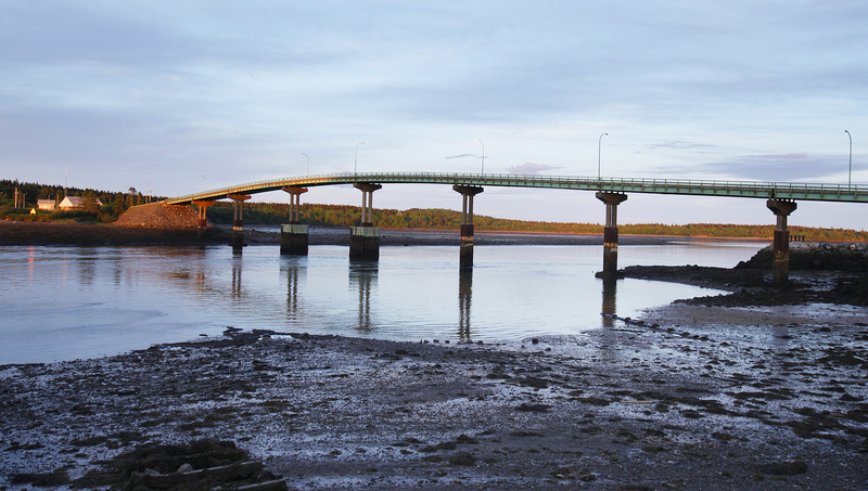 The Roosevelt International Bridge from Campobello Island in Canada to Lubec, Maine, is the island's only land connection, so islanders have come to rely on traveling into Maine for services. But post-9/11 border tightening has made crossing more difficult.