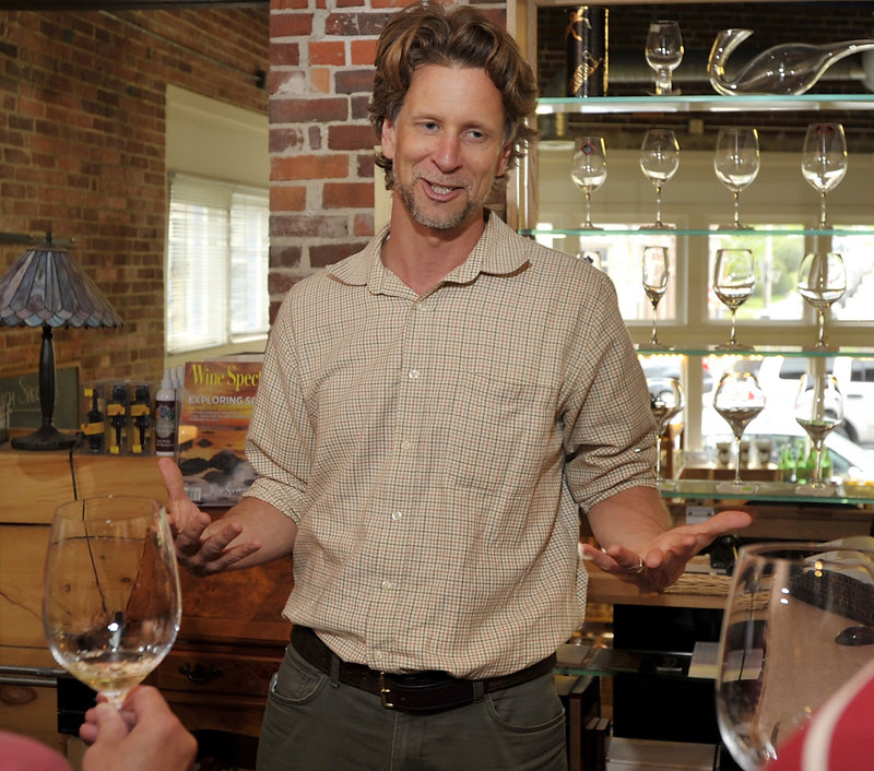 Michael Terrien was in Portland in May for a wine-tasting and meet-and-greet at Browne Trading Co. Terrien, a co-founder of the Tricycle Wine Company, also has his own label, which produces a critically acclaimed chardonnay.