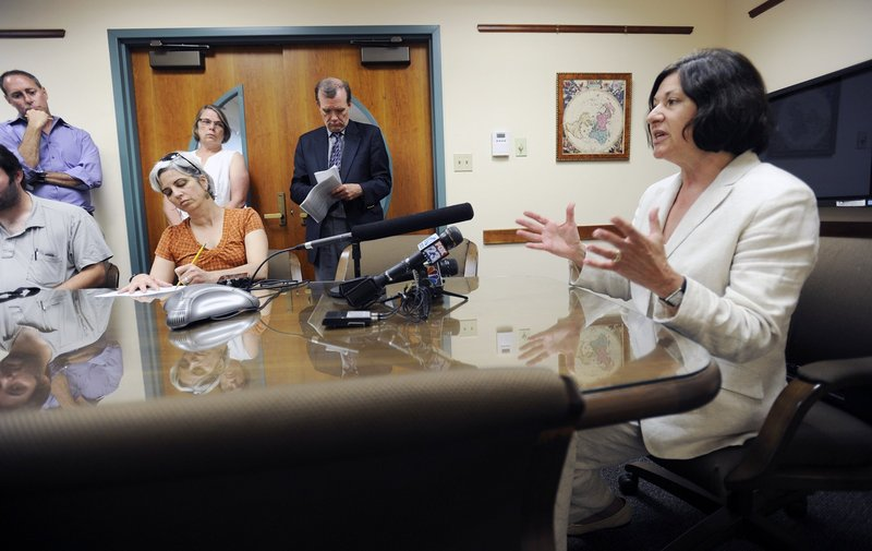 """The deal by which Selma Botman, above, retained her $203,000-a-year salary after resigning as USM president prompted a reader to ask, """"How does USM (in a tight budget era) come up with more than $200,000 out of thin air?"""""""