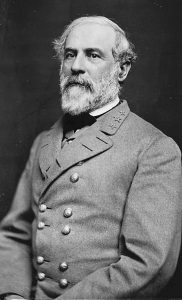 THIS 1864 PHOTO made available by the Library of Congress shows Confederate Army Gen. Robert E. Lee.