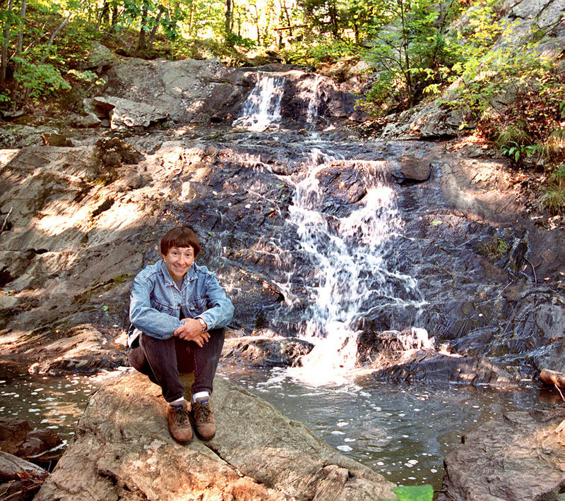 Jewell Falls in the Fore River Sanctuary is just a short hike from Congress Street in Portland.