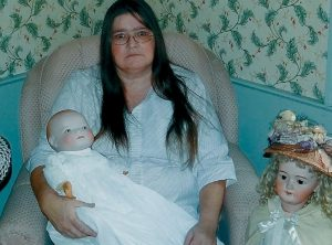 SHEILA KNOWLES of Whitefield, will be at the Bath Antiques Show and Sale on Sunday to discuss dolls.