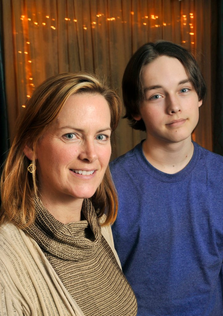 Peggy Schick of Topsham, whose son, Wyatt Luke, was diagnosed with Asperger's syndrome, says stories linking the disorder to the Connecticut school shooting are based on misinformation, a sentiment echoed by advocates nationwide.