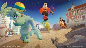 """THIS UNDATED publicity photo released by the Walt Disney Company shows the video game, """"Disney Infinity: The Toy Box."""""""