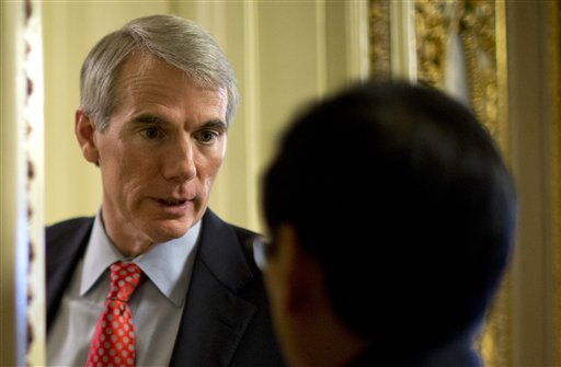 """Ohio Sen. Rob Portman: """"It's a change of heart from the position of a father. I think we should be allowing gay couples the joy and stability of marriage."""""""