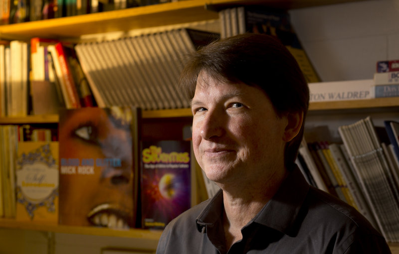 "Shelton Waldrep has been teaching a seminar on David Bowie at USM for more than 10 years. He became interested in Bowie when he first heard the 1980 album ""Scary Monsters."""