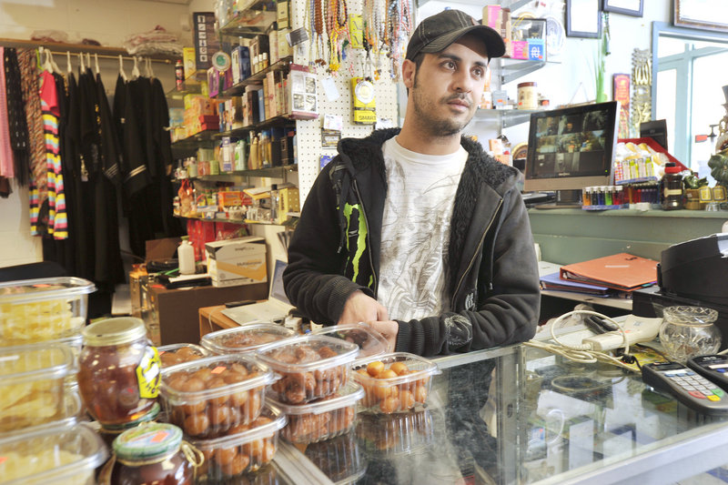 The Tigris Market on Bridge Street in Westbrook, which is owned by Jabbar Jabbar's brother, sells Middle Eastern food and other goods to the city's immigrant community.