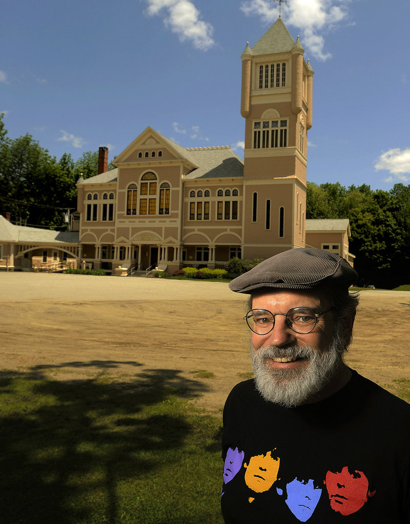 """Mark Cartier has a lead role in """"Our Town,"""" playing this summer at the Theater at Monmouth."""
