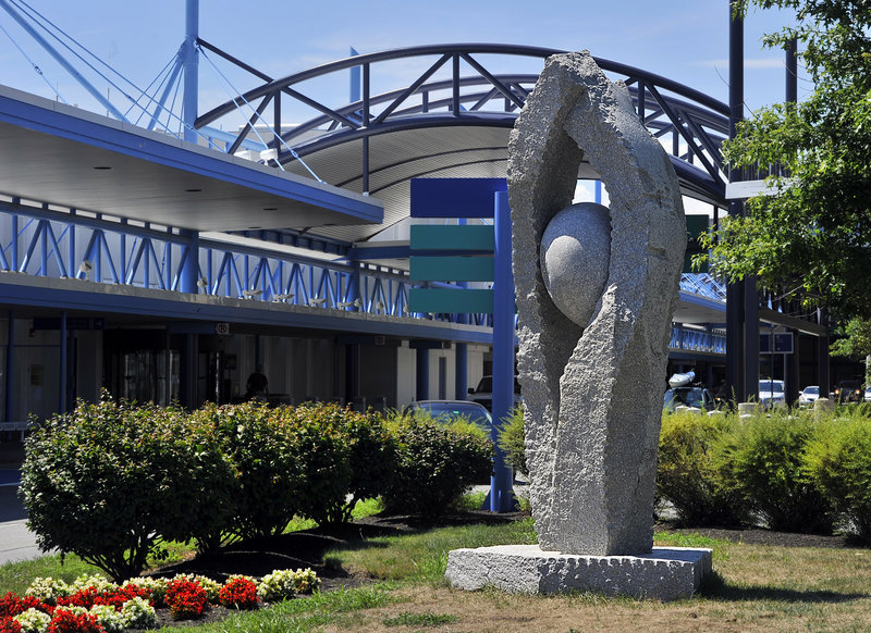 "Jesse Salisbury's ""Tidal Moon"" at the Jetport."