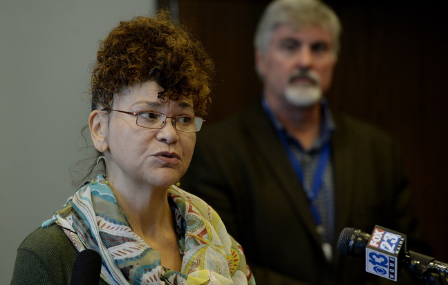 """Dianne """"dee"""" Clarke of Portland, a former victim of sex trafficking, now works as an advocate for other victims."""