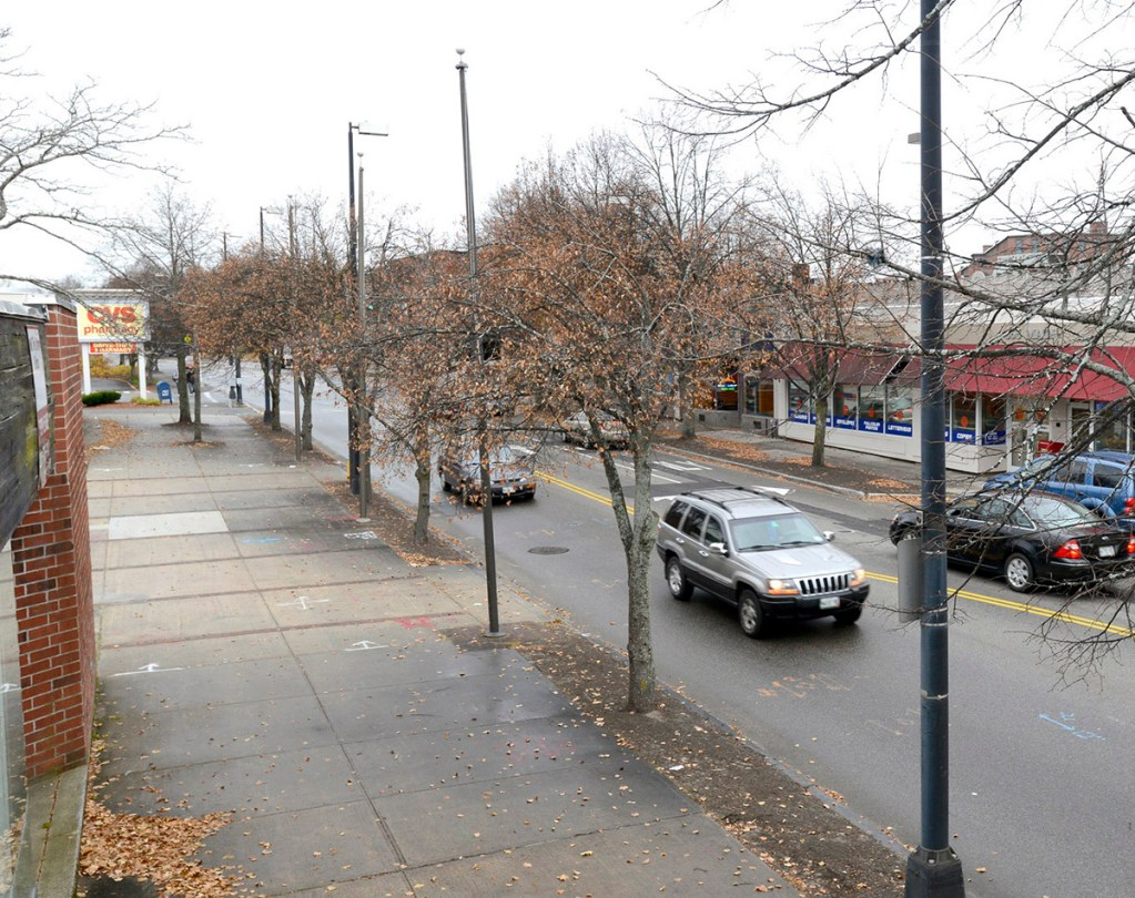 John Patriquin/StaffPhotographer: Thurs., Nov.7, 2013. Downtown Westbrook for a Flashback comparison. Flashback