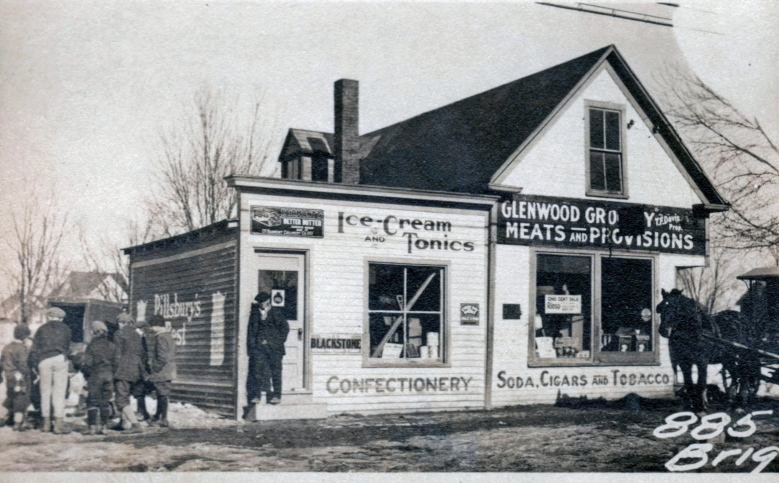 This store at 885-889 Brighton Ave. in Portland's Nasons Corner neighborhood was owned by Amos Ashnault.