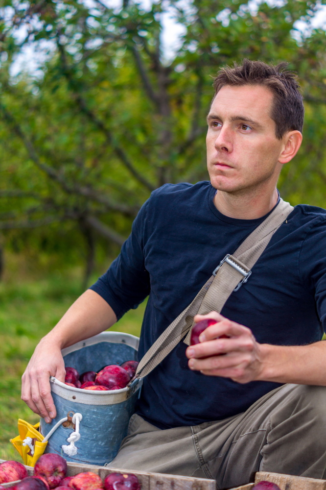 """Director Matt Byron's film """"Orchard Revolution"""" premieres Sunday afternoon at Cinemagic in Westbrook."""