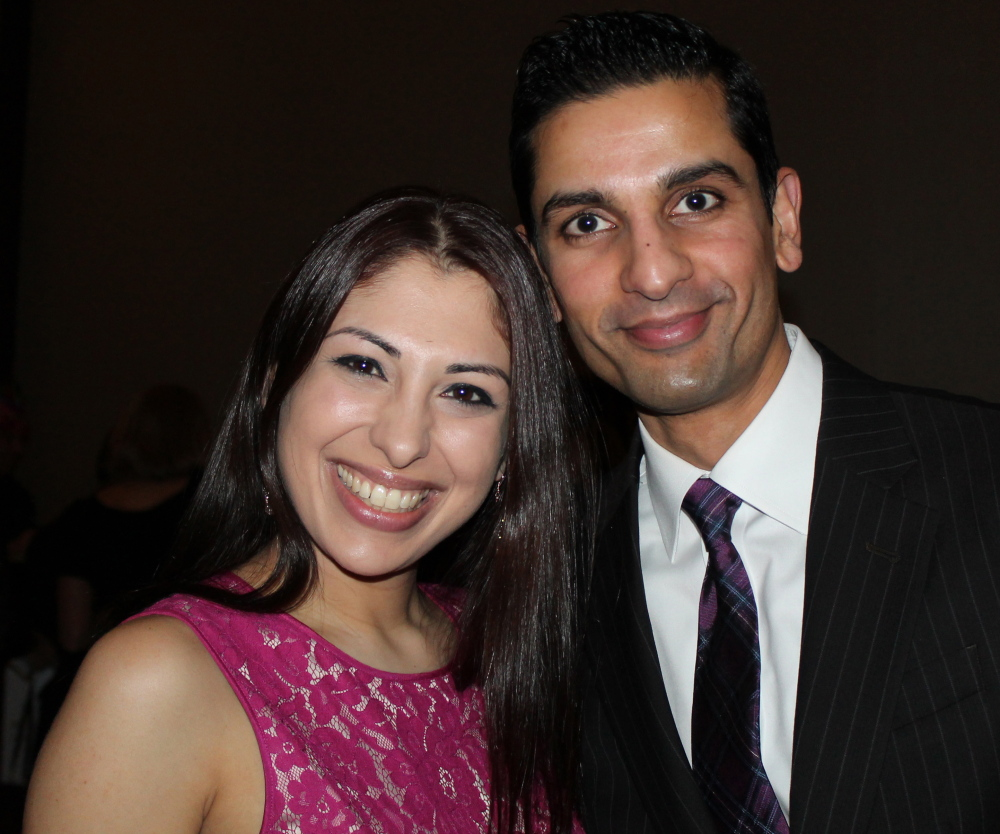 Shikha and Dr. Samip Vasaiwala help the Junior League fight food insecurity.