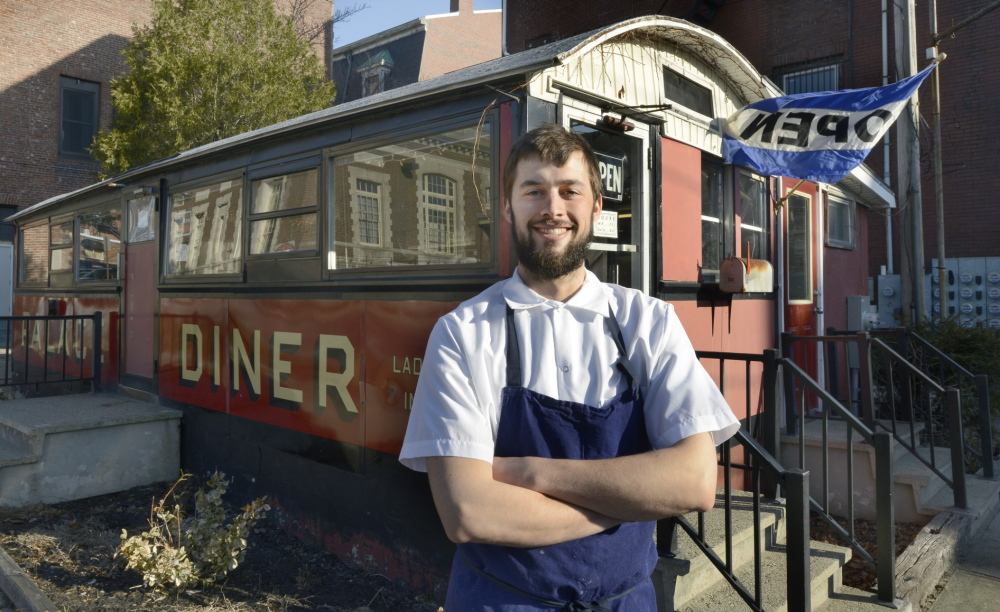 Chad Conley, co-owner of the Palace Diner in Biddeford, plans to open a Portland restaurant in the former BreaLu Cafe location on Forest Avenue.