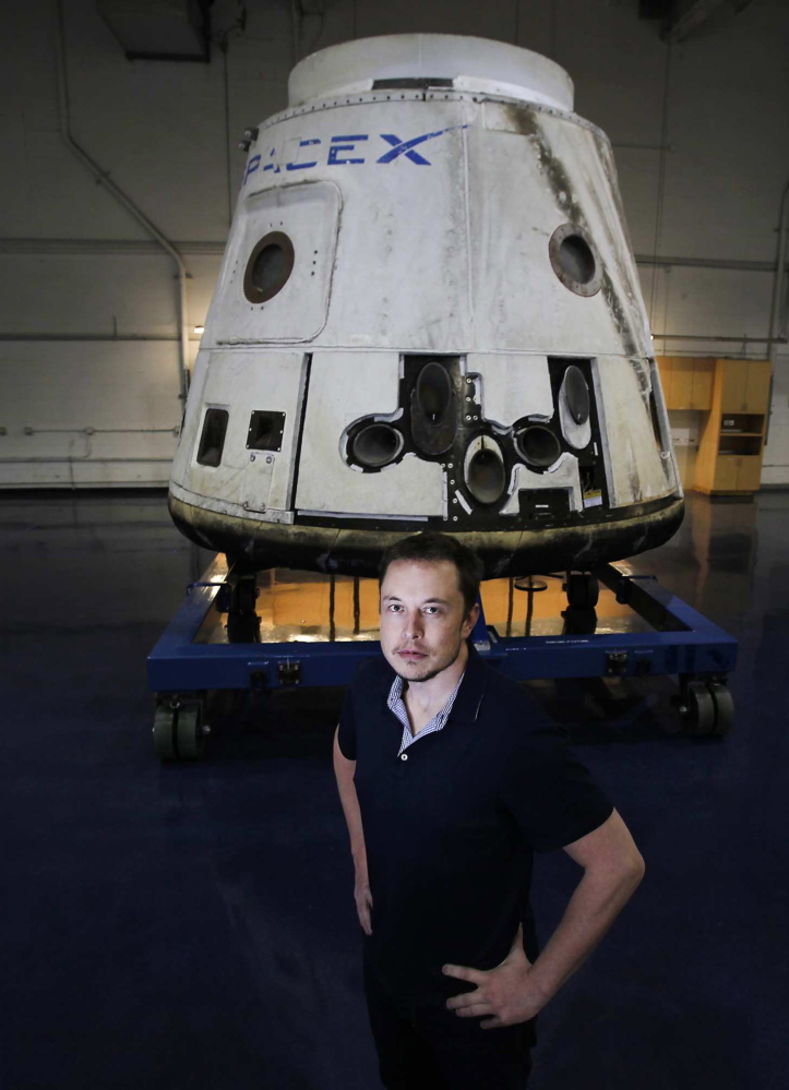 The otherworldly ambitions of Elon Musk - Portland Press Herald