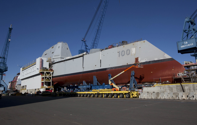 Like its namesake, Bud Zumwalt, the new destroyer is modern, innovative and potentially game-changing,