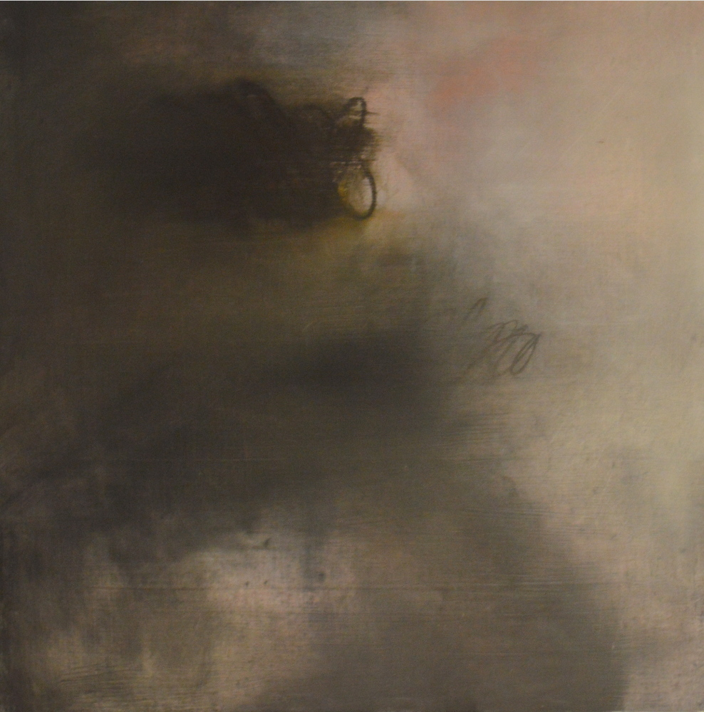 One of Michel Droge's four atmospheric abstractions
