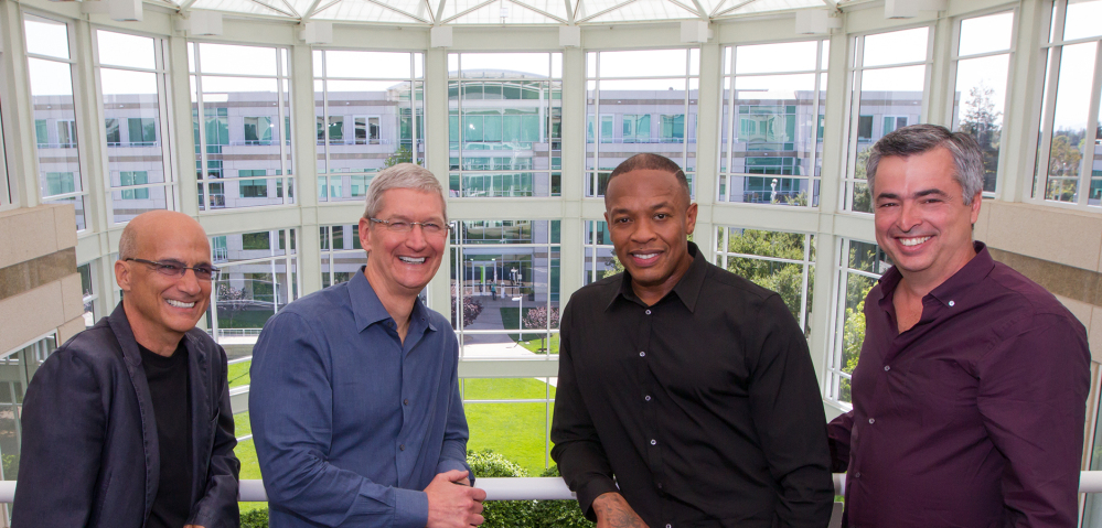 Image result for jimmy iovine dr dre tim cook