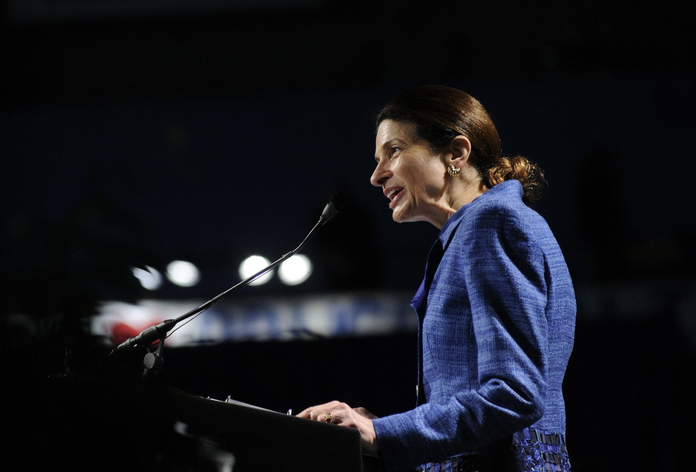 Olympia Snowe, a former U.S. senator from Maine, and her Bipartisan Policy Center are calling for open primaries in congressional races Press Herald 2012 file photo