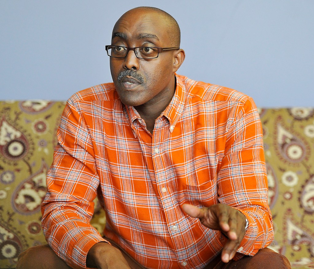 Alan Nahimana, an asylum seeker from Burundi, talks about the effects to his family, friends and the immigrant community of Gov. LePage's decision to cut General Assistance funding for undocumented  immigrants.