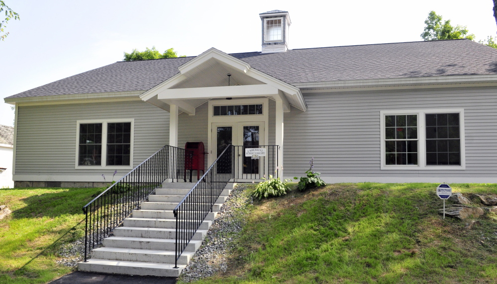 The Umberhine Public Library is nearly ready for its grand opening scheduled for Saturday.