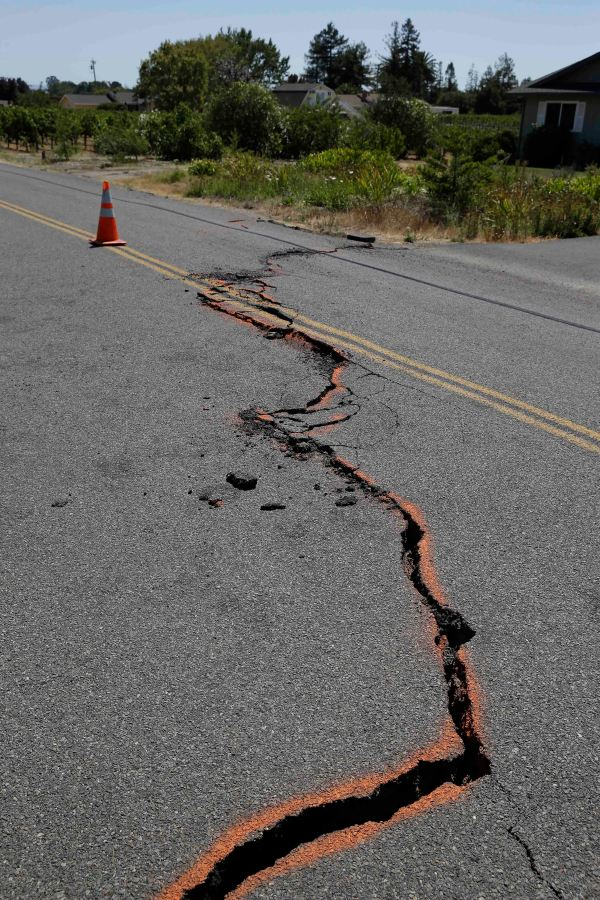 Scenes of Napa Valley quake damage Press Herald