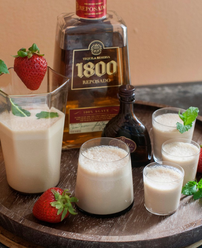 Aged tequilas pair beautifully with ice cream for a Texas tequila milkshake. The alcohol will prevent the mixture from freezing solid.