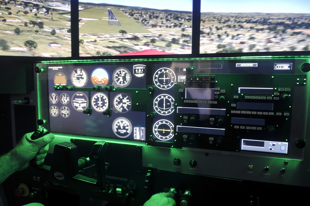 New flight simulator gives a lift to program at UMaine Augusta