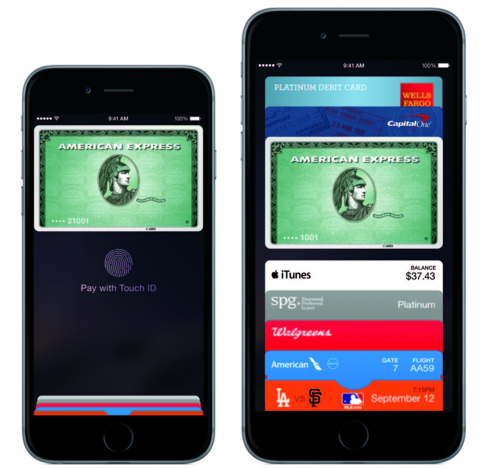 Apple's iPhone 6 and 6 Plus will include Apple Pay, which allows users to access credit cards on their smartphones.