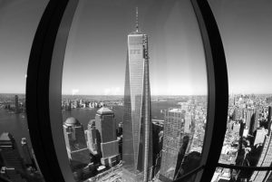 IN THIS NOV. 13, 2013 FILE PHOTO, 1 World Trade Center, center, is viewed from the 62nd floor of Four World Trade Center in New York.