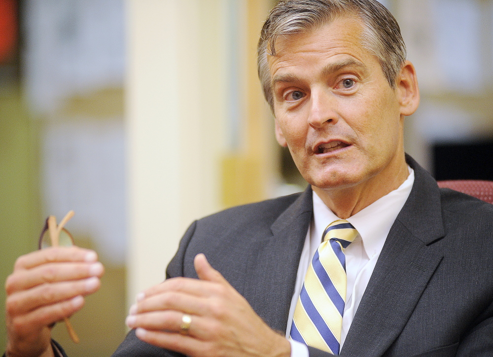 Glenn Cummings has been interim president of the University of Maine at Augusta and former speaker of the Maine House.