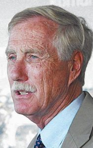 Maine's U.S. Sen. Angus King, right, is withdrawing his support for independent gubernatorial candidate Eliot Cutler and backing the Democratic candidate — Rep. Mike Michaud. See story, page A3.