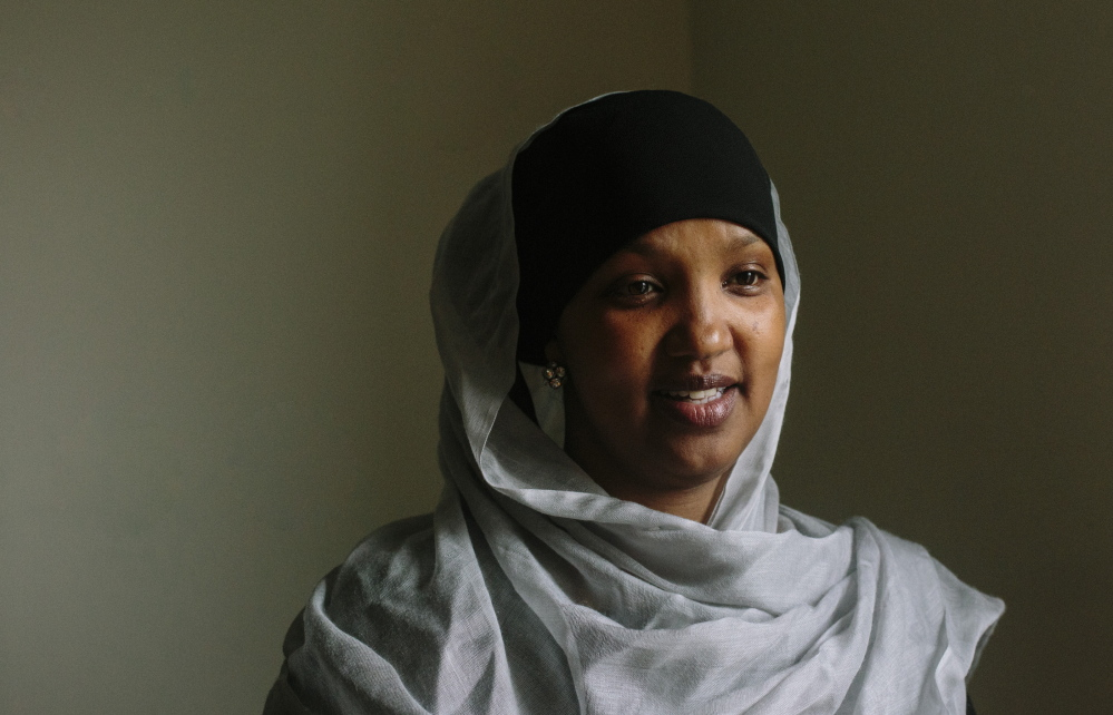 Fatuma Hussein, whose group United Somali Women for Maine educates immigrants and refugees about domestic violence, says the hardest part is persuading victims to break their silence.