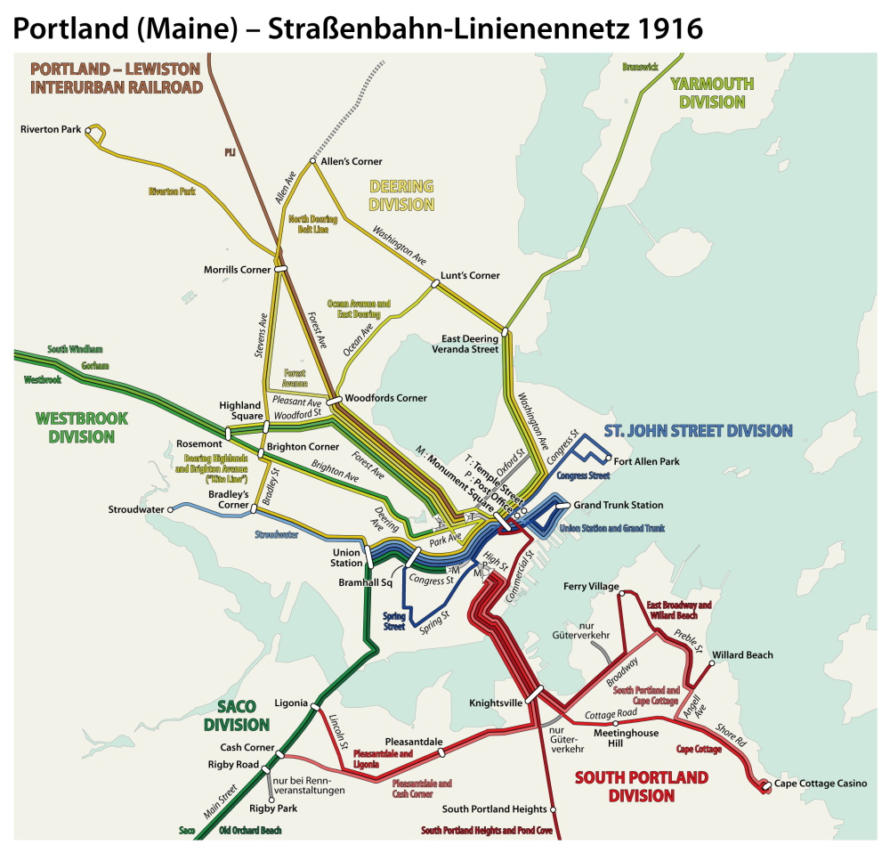 Maine Voices: Light rail system would save energy, serve as economic on