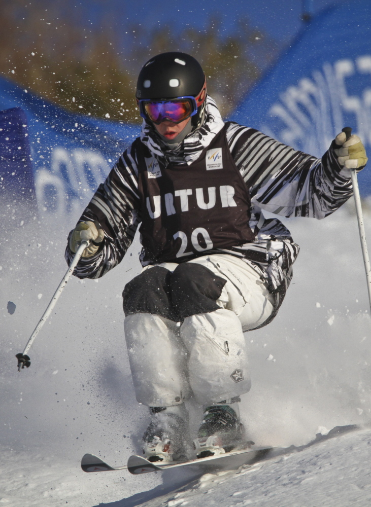 Bethel's Troy Murphy at the 2011 U.S. Freestyle Selections at Steamboat Springs in Colorado.