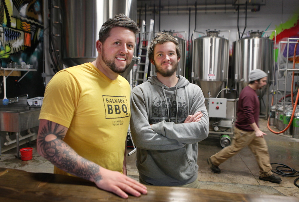 Peter and Noah Bissell of Bissell Brothers Brewing Co. in Portland faced a tough decision in adding two more fermentation tanks to meet demand, even as their debt to run the business was piling up.