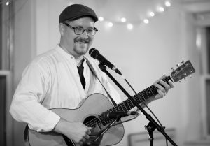 """SINGER-SONGWRITER Jud Caswell will lead the service at the Midcoast Unitarian Universalist Fellowship on Sunday, Feb. 8, with a reflection on """"Creativity, Spirituality and the UU Experience."""" A multi-instrumentalist, he leads a monthly songwriting circle and musical story hours at area libraries. A resident of Brunswick and active member of the Unitarian Universalist Church, he also runs Frog Hollow Studio. The service begins at 10:30 a.m. in the Porter Meeting Hall at Skidompha Library, Damariscotta."""