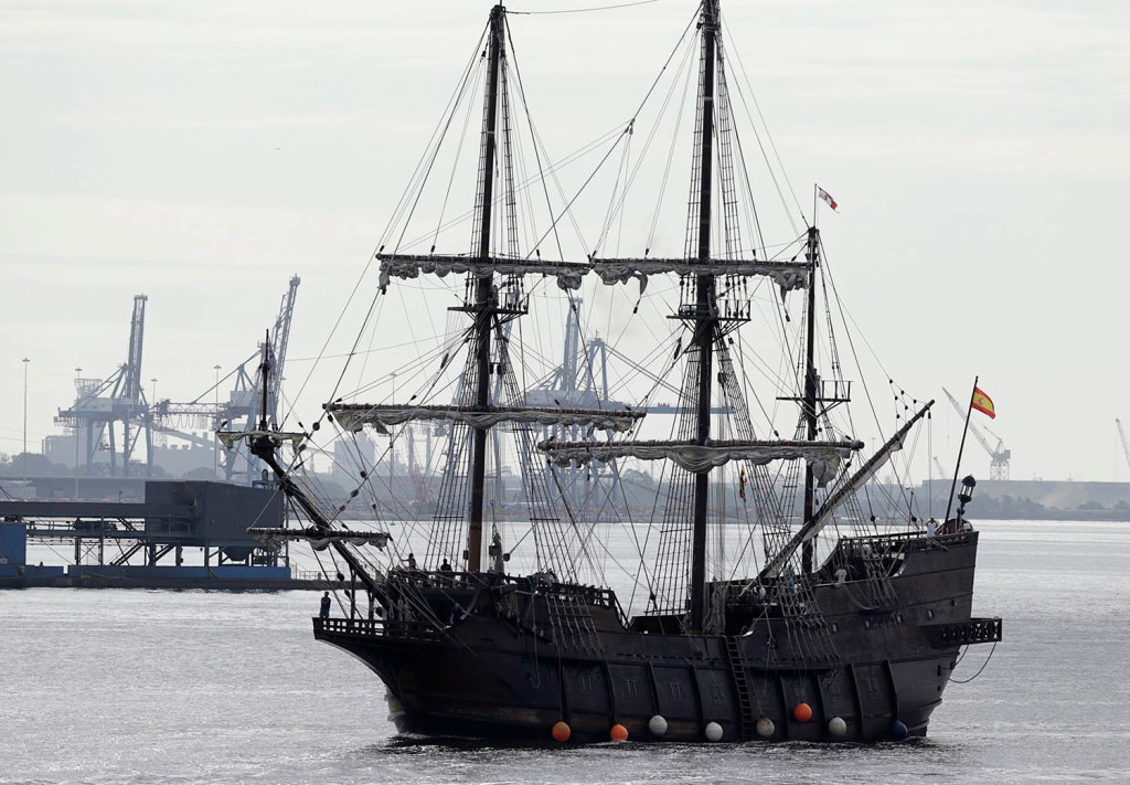 The El Galeon Andalucia, a tall ship from Spain seen entering Baltimore Harbor in September as part of the Star Spangled Banner's 200th anniversary, is due in Portland this summer for the city's first tall-ships festival in 15 years.