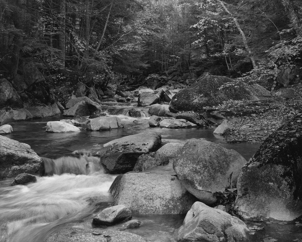 """Stream #2, Near the Basin, Franconia Notch S.P., N.H.,"" Alan Sockloff"