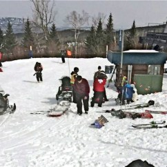 Ski Chair Lift Malfunction Folding For Office Sugarloaf Cites Major Mechanical Failure In Chairlift Accident First Aid Is Administered To Injured Skiers At Mountain Resort After A Saturday